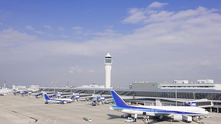 ジェットスターの中部国際空港画像