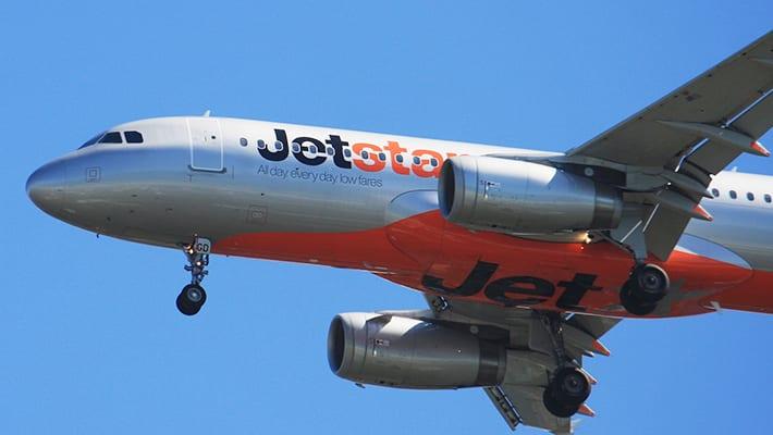 ジェットスターの飛行機画像