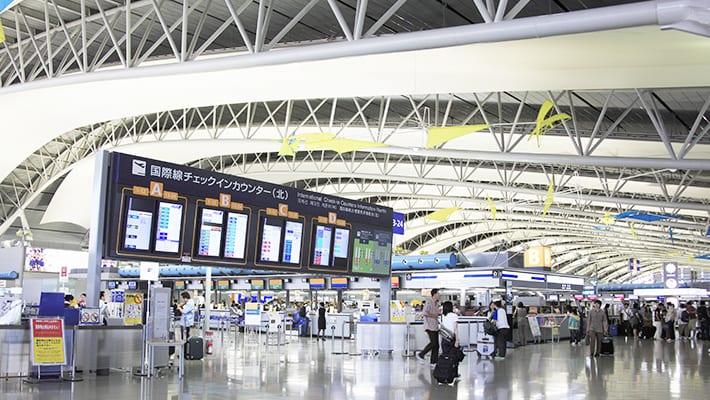 バニラエアの関西国際空港画像