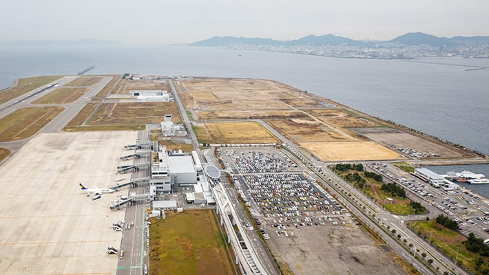 スカイマークの神戸空港