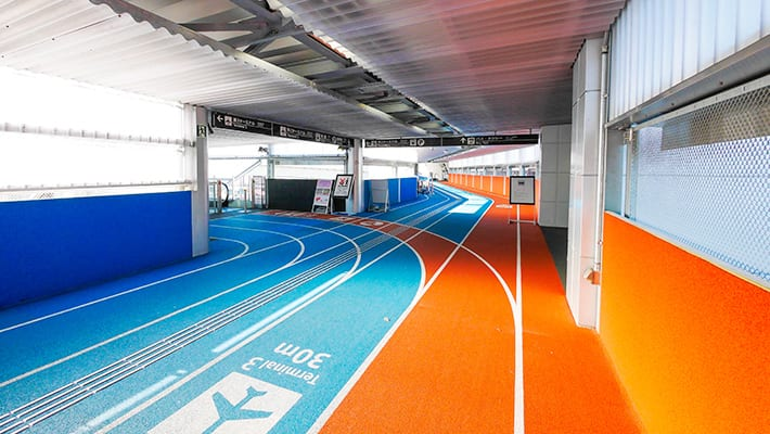 ジェットスターの成田空港画像