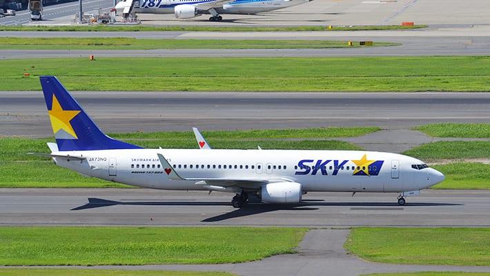 スカイマークの飛行機画像